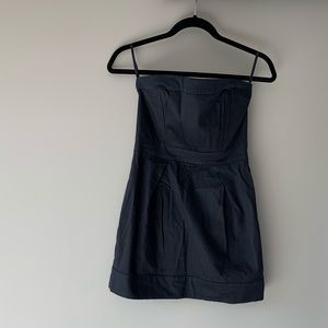 Black French Connection mini dress
